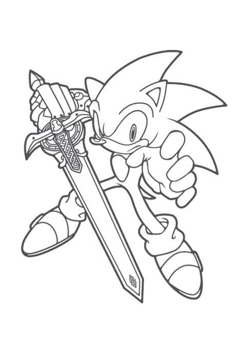 Sonic The Hedgehog Coloring Pages To Print Coloring Sonic And Friends Coloring Pages