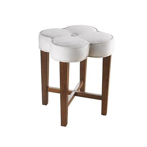 Bathroom Vanity With Stool Hillsdale Furniture Clover Vanity Stool 6662435 Hsn