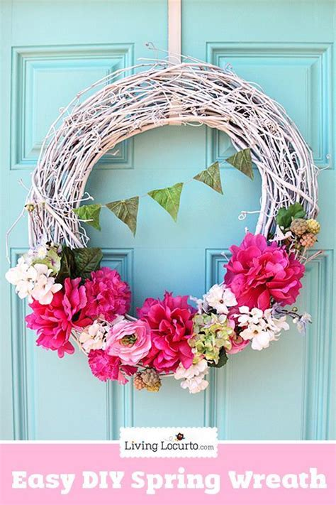 diy spring wreath 17 best images about living locurto recipes party crafts
