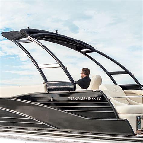 harris pontoon boat bimini top harris grand mariner 230 pontoon boat experience harris