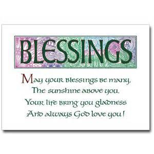 blessings blessings card