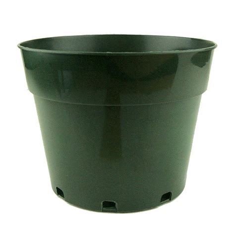 8 quot green plastic pot