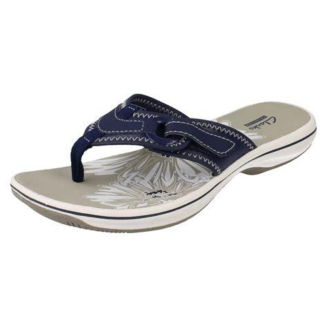 clarks flip flop sandals clarks flip flops label brinkley mila ebay