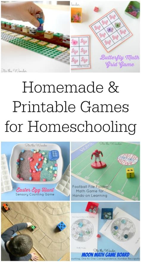 printable games to play at home homemade and printable games for homeschooling stir the