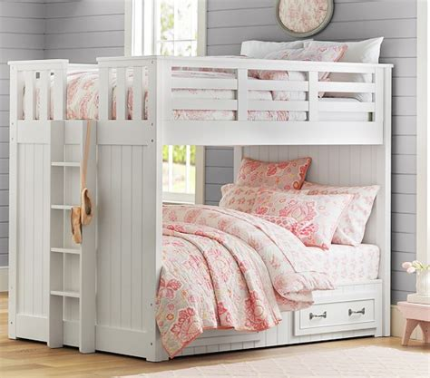 pottery barn kids loft bed belden full over full bunk bed pottery barn kids