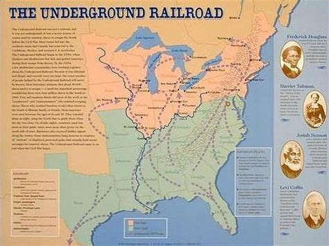 the underground map the underground railroad project on