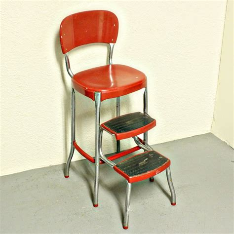 Kitchen Step Stool by Vintage Metal Kitchen Tables And Chairs Kitchen