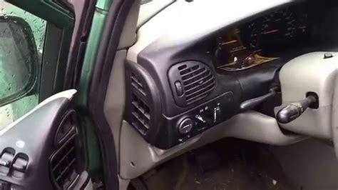 chrysler minivan dodge caravan  fix signal lights