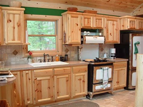 Pine Cabinets Kitchen | knotty pine kitchen cabinets wholesale roselawnlutheran