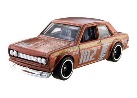 Hotwheels Datsun wheels datsun 510 now in brown japanese nostalgic car