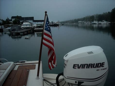 boat t top flag pole ski pylon and flag pole continuouswave