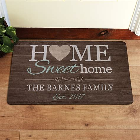 Customized Doormat by Personalized Doormats Welcome Mats Personal Creations