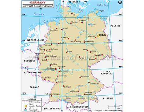 lat map buy germany latitude and longitude map country maps and country