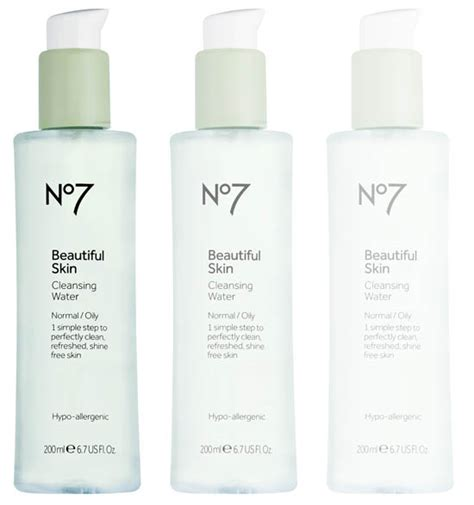 Skin Detox Range by No7 Beautiful Skin Cleansing Water Review Beaut Ie