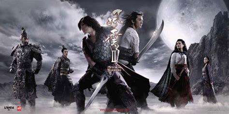 film fantasy kung fu the storm warriors cgi fantasy kung fu movie review