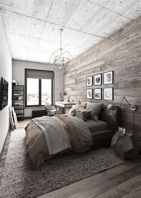 mens home decor best 25 modern rustic bedrooms ideas on pinterest dark