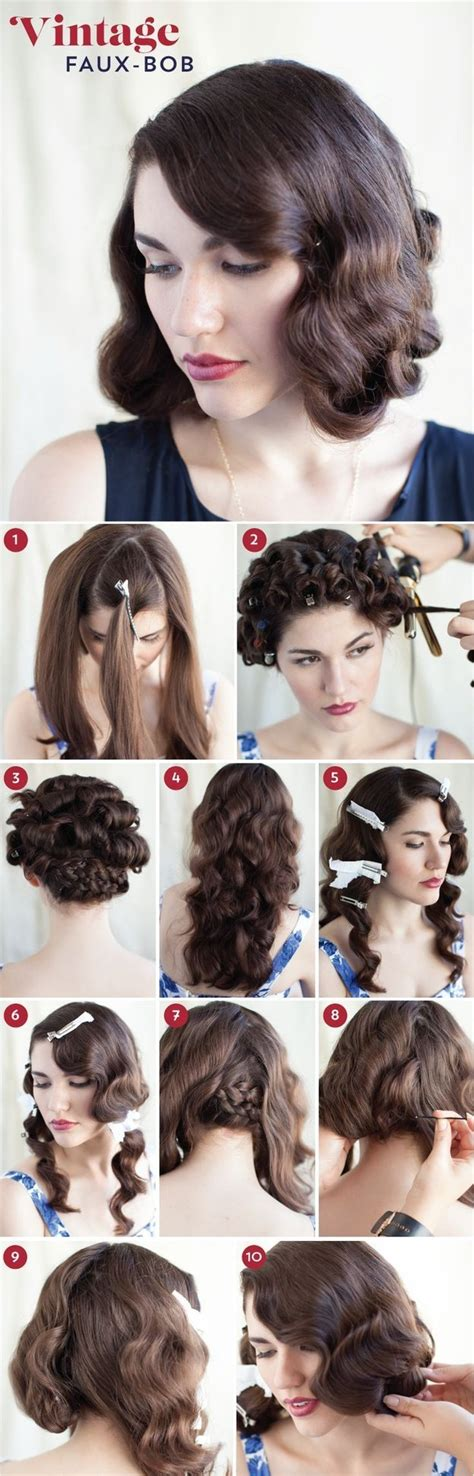 how to recreate 1950s hairstyles 32 vintage hairstyle tutorials you should not miss