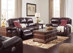 power reclining living room set gilmanton burgundy power reclining adjustable headrest living room set from coleman