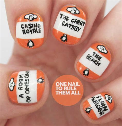 Nail Book by 16 Book Inspired Nail Designs More