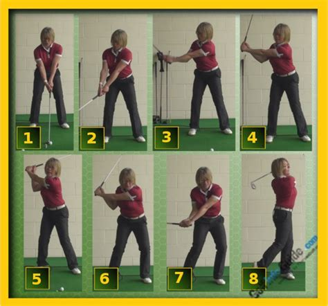 correct golf swing how and why a proper connected golf swing creates