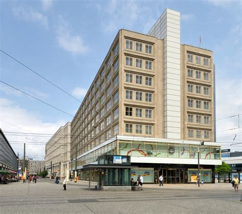 behrens berlin berolinahaus at alexanderplatz by behrens metalocus