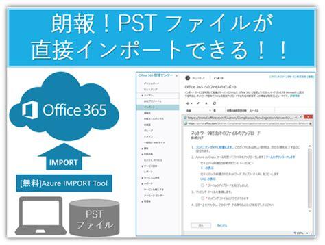 Office 365 Outlook License もうoutlookを使った移行は要らない Office 365へ直接インポート Office オフィス