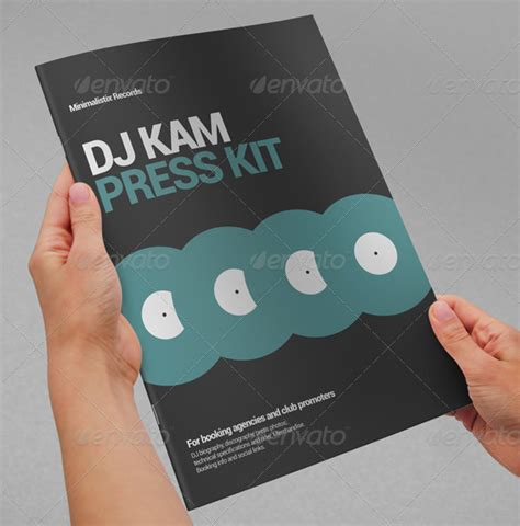11 Press Kit Templates To Download Sle Templates Free Press Kit Template Psd