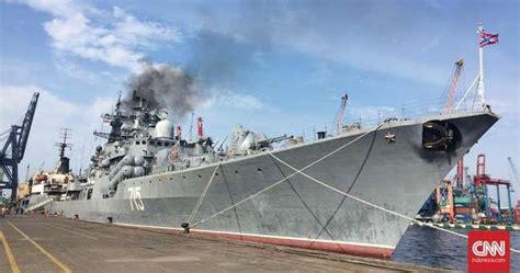 update berita militer indonesia selamat datang destroyer rusia pamerkan kapal perang penghancur di tanjung priok
