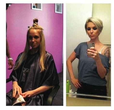 vorher und nachher top frisuren lange kurze haare