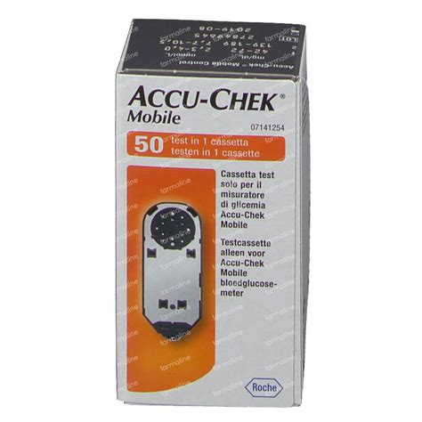 test mobile accu chek mobile test cassette 50 pieces order