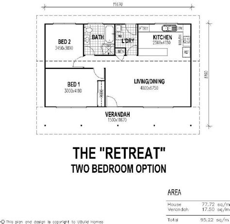 guest house floor plans 2 bedroom 2 bedroom guest house floor plan with verandah guest