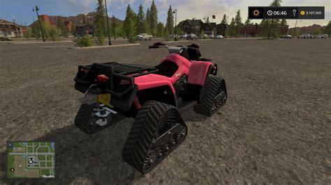 Rancher Logging atv crawler v1 ls17 farming simulator 2017 mod fs 17 mod