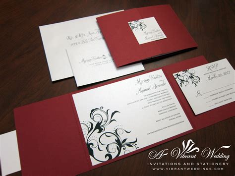 Red  Ee  Wedding Ee    Ee  Invitation Ee   A Vibrant  Ee  Wedding Ee