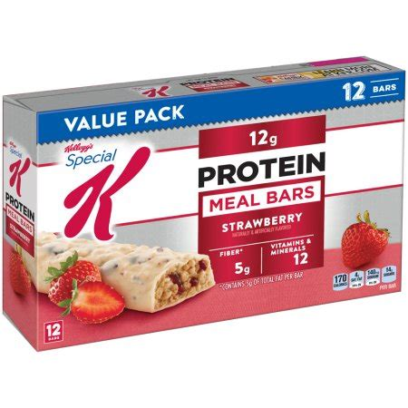 k protein meal bar review kellogg s special k strawberry protein meal bars 1 59 oz