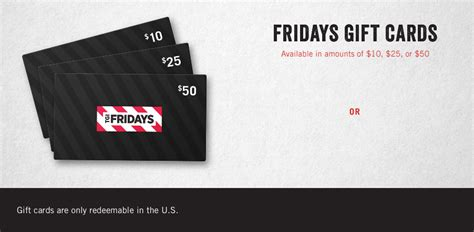 Tgif Gift Cards - egift cards gift cards tgi fridays casual dining restaurant bar