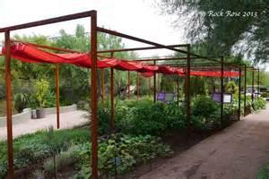 Garden Shade Canopy Rock It S In The Desert Botanical Garden