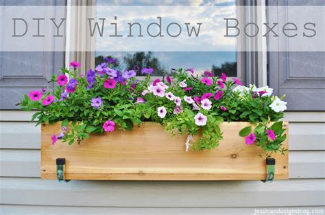window boxes with flowers jessicandesigns diy window flower boxes