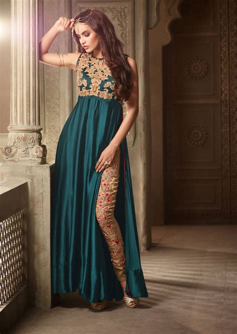 design dress 2017 pakistan latest long churidar designs in pakistan 2017
