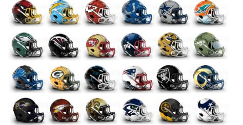 T Shirt Nike Do More Fear Less Original here are some more nfl helmet redesigns