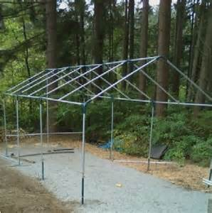 make your own 21 to 30 rv portable carport shelter kit