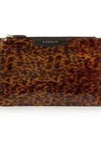 Ready Again Givenchy Antigona givenchy antigona pouch in leopard print patent leather