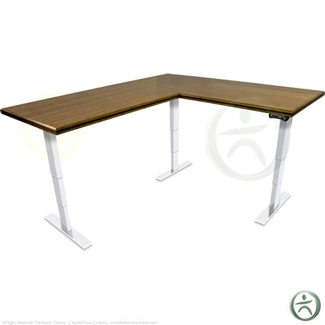 bamboo stand up desk shop uplift 950 premium bamboo l shaped ergonomic desks