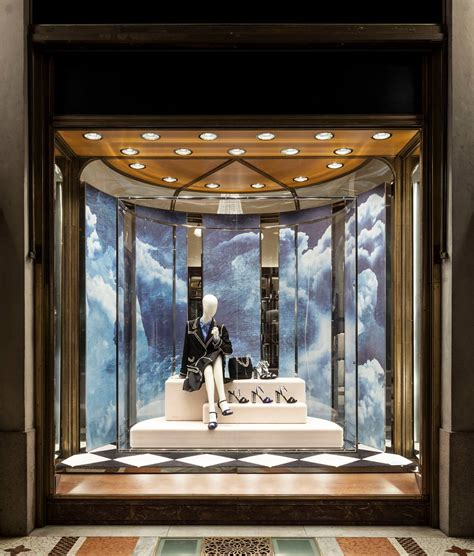 window fixtures prada in the skies holiday window displays 2014 best