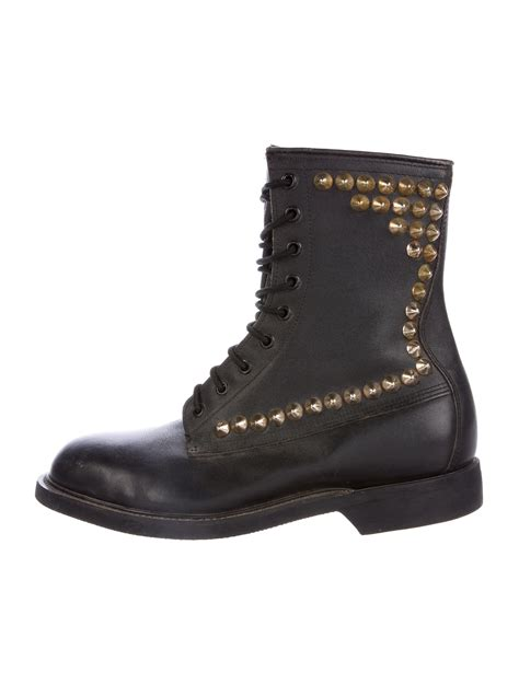 spiked mens boots wolverine studded combat boots shoes wwlvr20032 the