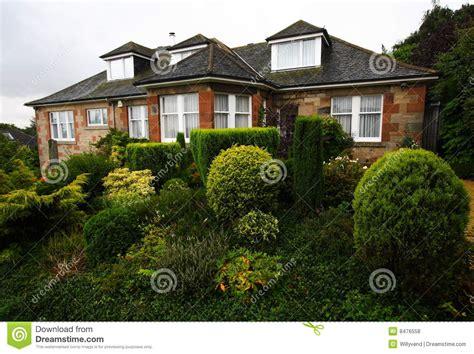 imagenes libres casa casa residencial escocia fotos de archivo libres de