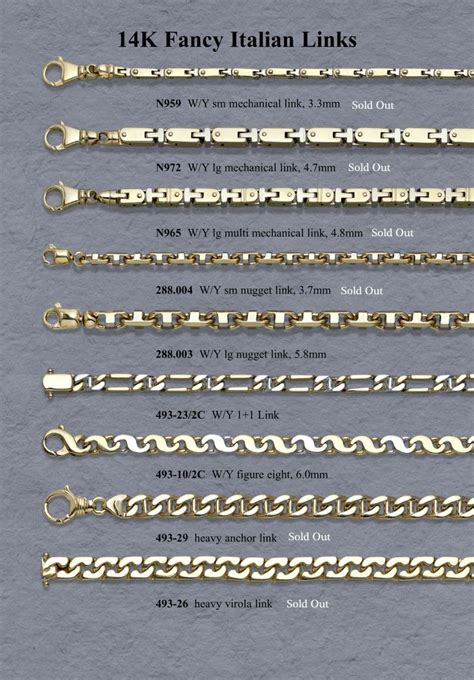 chain links for jewelry 14 best jewelry chain link styles images on