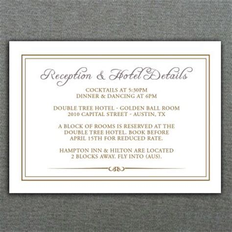 Wedding Enclosure Cards Template by 78 Best Images About Diy Wedding Rsvp Enclosure Card