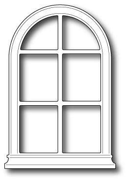 Arched window clipart - Clipartix
