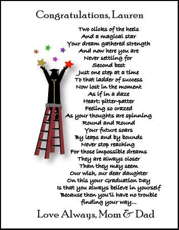 songs for daughters graduation video graduation poems graduation gifts personalized poetry
