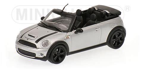 1 43 Mini Cooper S Cabrio Convertible Black R57 2009 Minichs Diecas 1 minichs 2009 mini cooper s silver 431 138830 in 1